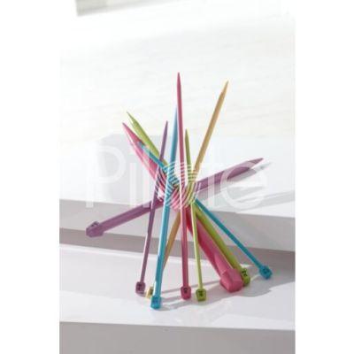Ihlice farebné plastové 40 cm