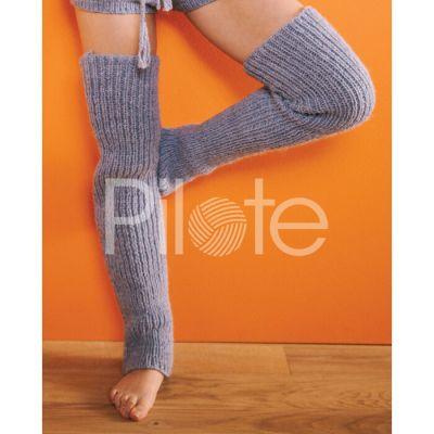 Štucne Anaya-návod na pletenie