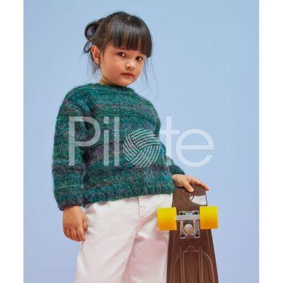 Detský pulóver Tomi-návod na pletenie