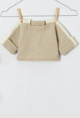 Detský pletený reklíček