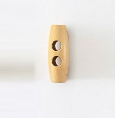 Gombík oliva drevený